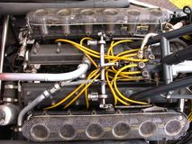 vee двигателя Стоковое Изображение RF