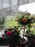 Veel bloemen stock afbeelding