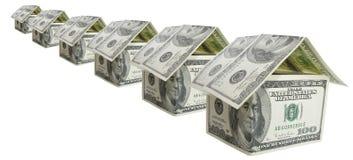 Veel dollarhuis Stock Fotografie