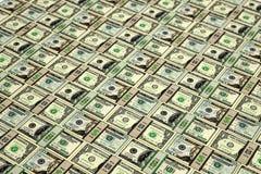 Veel Dollarrekeningen Stock Foto's