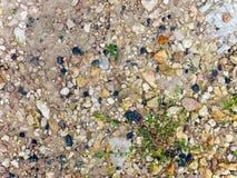 Veel-gekleurde stenen Stock Afbeeldingen