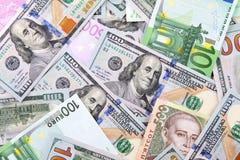 Veel geld Stock Foto's