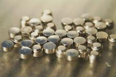 Veel kleine batterie Stock Fotografie