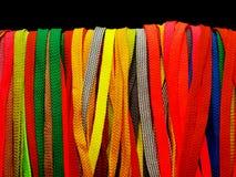 Veel multicolored kant Royalty-vrije Stock Afbeelding