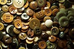 Veel oude knopen voor manier royalty-vrije stock afbeelding