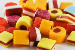 Veel Suikergoed Stock Afbeelding