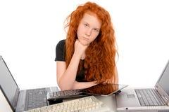 Veel teveel computer Royalty-vrije Stock Foto