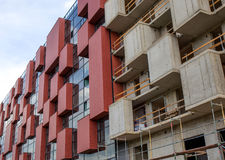 Veel torenbouw Stock Foto