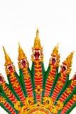 Veel van het rode draakhoofd Royalty-vrije Stock Afbeelding