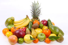 Veel vers fruit Royalty-vrije Stock Foto's