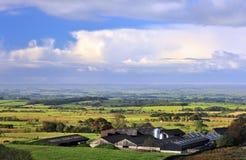 Veelandbouwbedrijf, Lancashire royalty-vrije stock afbeeldingen