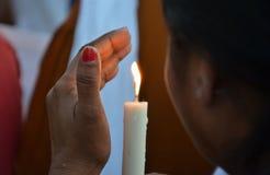 Veeleisende Doodstraf tegen verkrachters Royalty-vrije Stock Afbeelding