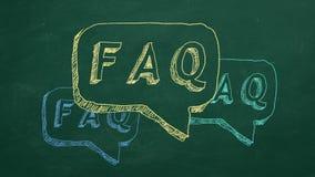 Veelgestelde vragen royalty-vrije illustratie