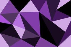 Veelhoek Abstract viooltje Royalty-vrije Stock Fotografie