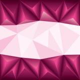 Veelhoek abstracte achtergrond Royalty-vrije Stock Afbeeldingen