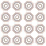 Veelhoek naadloos patroon in pastelkleurtonen stock illustratie