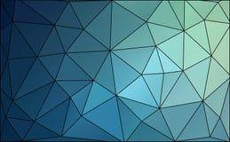Veelhoekachtergrond Stock Afbeelding