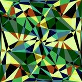 Veelhoekige abstracte achtergrond Royalty-vrije Stock Fotografie