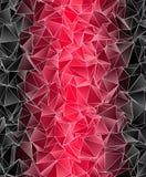 Veelhoekige achtergrond Abstracte driehoekige textuur Royalty-vrije Stock Foto