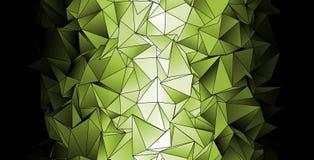 Veelhoekige achtergrond Abstracte driehoekige textuur Stock Foto