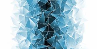 Veelhoekige achtergrond Abstracte driehoekige textuur Stock Foto's