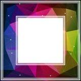 Veelhoekige grens Royalty-vrije Stock Afbeelding