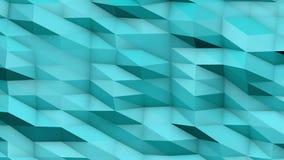 Veelhoekige oppervlakte geometrische achtergrond royalty-vrije illustratie