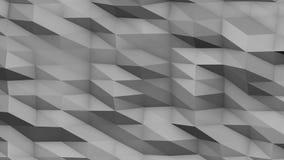 Veelhoekige oppervlakte geometrische achtergrond stock illustratie