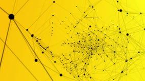 Veelhoekige structuur, abstracte meetkundevorm vector illustratie