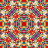 Veelkleurig Abstract Geometrisch Naadloos Patroon Stock Foto