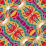 Veelkleurig Abstract Geometrisch Naadloos Patroon Royalty-vrije Stock Afbeelding