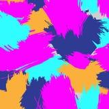 Veelkleurig Autumn Background Goed voor ontwerp uw aanbieding van de dalingsverkoop Retro uitstekend de jaren '80 of jaren '90 ab stock illustratie