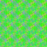 Veelkleurig dun lijn abstract helder naadloos patroon stock illustratie