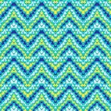Het geometrische patroon van de zigzag royalty-vrije illustratie