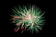 Veelkleurig Vuurwerk Stock Fotografie