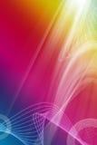 Veelkleurige abstracte achtergrond Royalty-vrije Stock Afbeeldingen