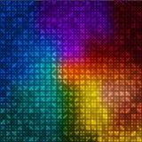 Veelkleurige abstracte achtergrond Stock Afbeeldingen