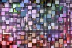 Veelkleurige Abstracte achtergrond Stock Afbeelding