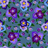 Veelkleurige bloemenachtergrond Stock Foto