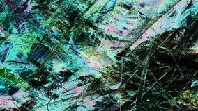 Veelkleurige Glitch Achtergrond stock illustratie