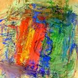 Veelkleurige Gouacheverf Stock Afbeeldingen