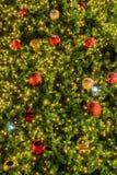 Veelkleurige Kerstmisbal Stock Foto