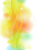 Veelkleurige lichte achtergrond Royalty-vrije Stock Foto's