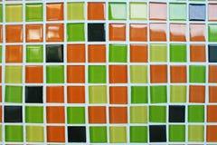 Veelkleurige moderne muur stock foto's