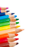 Veelkleurige Reeks 02 van het Potlood van de Tekening Royalty-vrije Stock Afbeelding