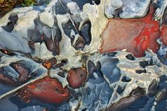 Veelkleurige stenen-01 Stock Afbeeldingen