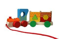 Veelkleurige trein 5 Stock Afbeelding