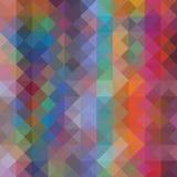 Veelkleurige veelhoekige illustratie, wat uit driehoeken bestaan Geometrische achtergrond in Origamistijl met gradiënt Royalty-vrije Stock Foto