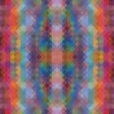 Veelkleurige veelhoekige illustratie, wat uit driehoeken bestaan Geometrische achtergrond in Origamistijl met gradiënt Stock Fotografie