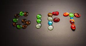 Veelvoudig kleurenglas royalty-vrije stock fotografie